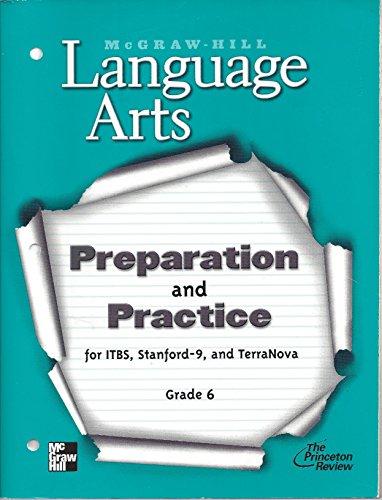 9780022447793: Test Preparation and Practice Workbook Blackline Masters (Language arts)