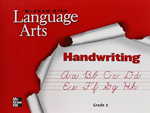 9780022447823: McGraw-Hill Language Arts: Handwriting : Grade 2