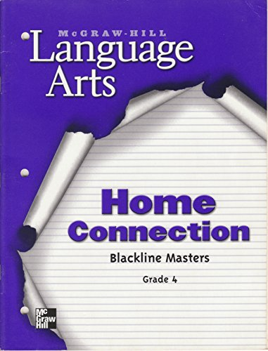 9780022447915: Language Arts Language Support Home Connection Blackline Masters Grade 4