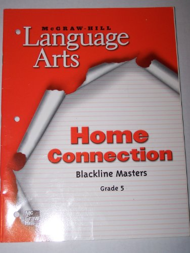 9780022447922: McGraw-Hill Language Arts: Home Connection- Blackline Masters, Grade 5