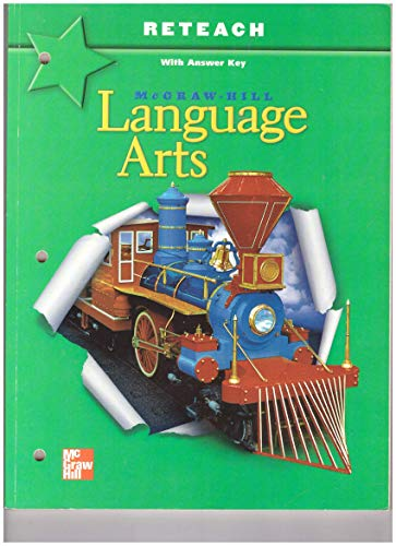 9780022448530: McGraw Hill Language Arts Reteach With Answer Key