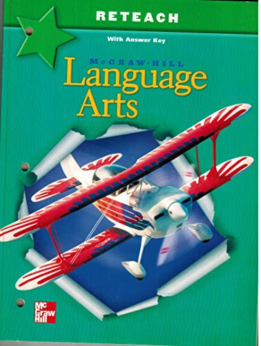 9780022448561: Language Arts (Grade 6, Reteach With Answer Key)