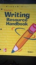 9780022448677: McGraw-Hill Teacher's Writing Resource Handbook, Grade 1 (McGraw-Hill School Division)