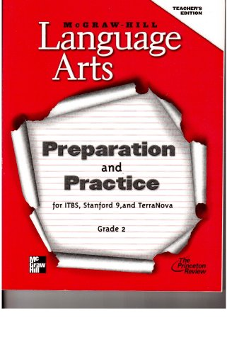 Language Arts, Preparation and Practice for ITBS, Stanford-9, and TerraNova, Grade 2, teacher'...