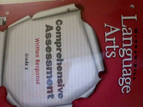 9780022452643: McGraw-Hill Language Arts Comprehensive Assessment Written Responses, Grade 2