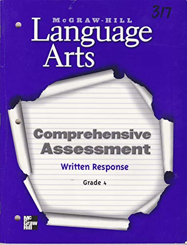 Comprehensive Assessment - Written Response Blackline Masters: Macmillan/McGraw-Hill School Division