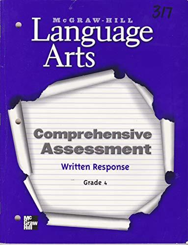 9780022452667: Comprehensive Assessment - Written Response Blackline Masters : Assessment