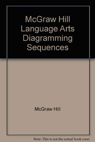 9780022453367: McGraw Hill Language Arts Diagramming Sequences