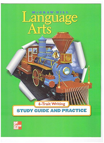 9780022453817: 6-Trait Writing Study Guide and Practice Grade 3 (McGraw-Hill Language Arts)
