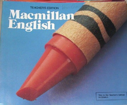 9780022455200: Macmillan English Teacher's Edition, Grade 1