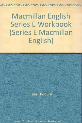9780022455408: Macmillan English Series E Workbook (Series E Macmillan English)