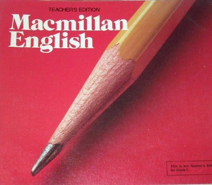 9780022455507: Macmillan English Teacher's Edition; Series E (Grade 2)