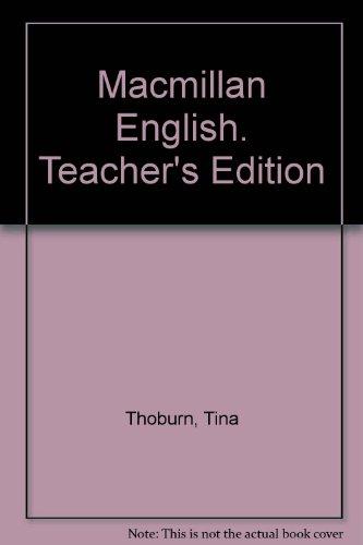 9780022456801: Macmillan English. Teacher's Edition