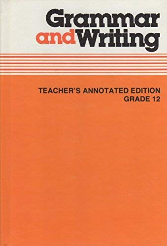 9780022461003: Grammer and Writing Teacher's Annotated Edition Grade 12