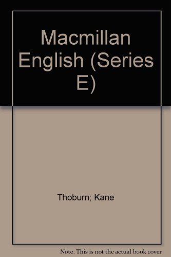9780022462901: Macmillan English (Series E)