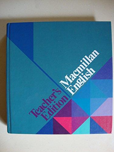 9780022471903: Macmillan English. Teacher's Edition (Series E)