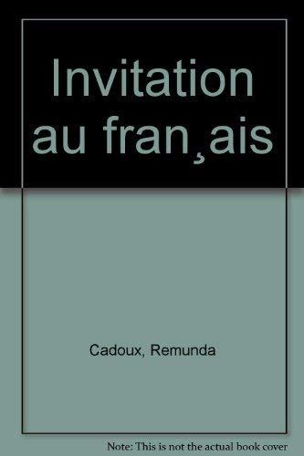 9780022687502: Invitation au français