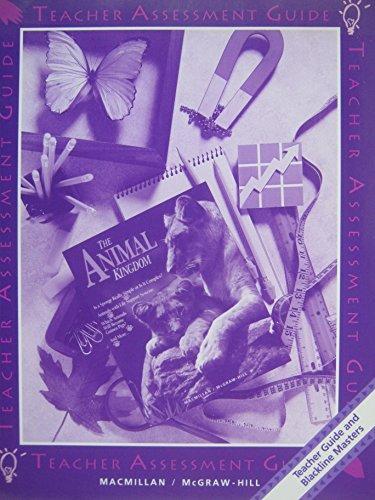 9780022744670: The Animal Kingdom - Teacher Assessment Guide (Macmillan / McGraw-Hill Science)