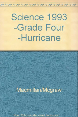 9780022749361: Science 1993 -Grade Four -Hurricane