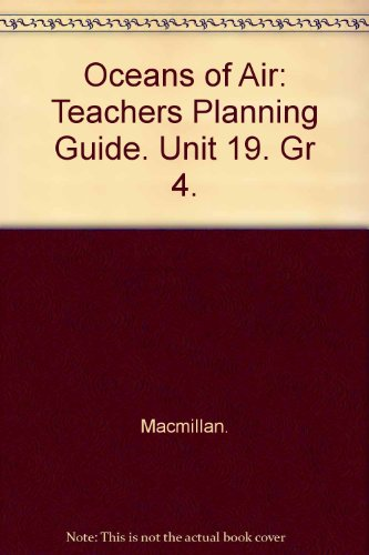 Oceans of Air- Unit 19: Teacher's Planning: Mary Atwater; H.