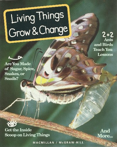 9780022761103: Living Things Grow & Change (Sience Turns Minds On)