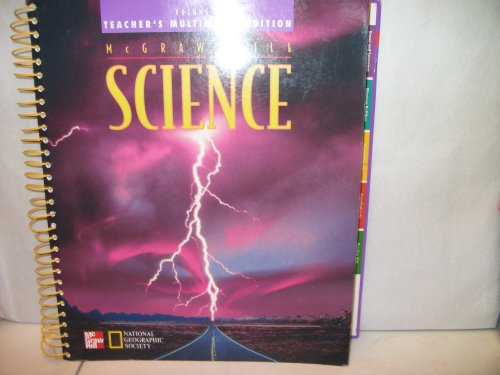 McGraw-Hill Science, Grade 5, Vol. 2, Teacher's Edition (0022774866) by Lucy Daniel