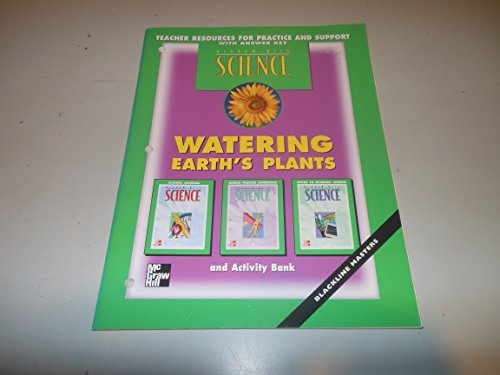 9780022776213: Watering Earth's Plants - Teacher Resources for Practice and Support, with Answer Key (Science)