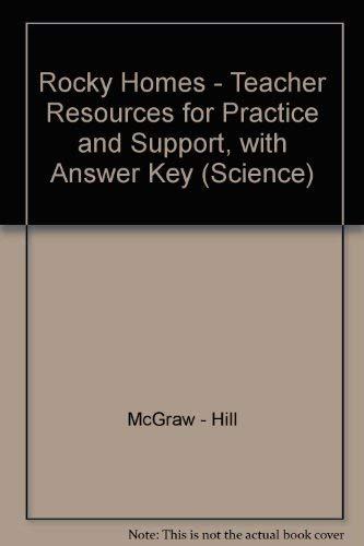9780022776251: Rocky Homes - Teacher Resources for Practice and Support, with Answer Key (Science)