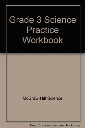 9780022777074: Grade 3 Science Practice Workbook