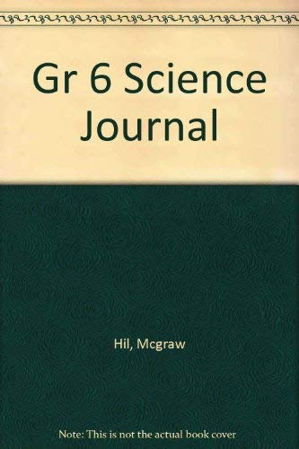9780022781231: Gr 6 Science Journal
