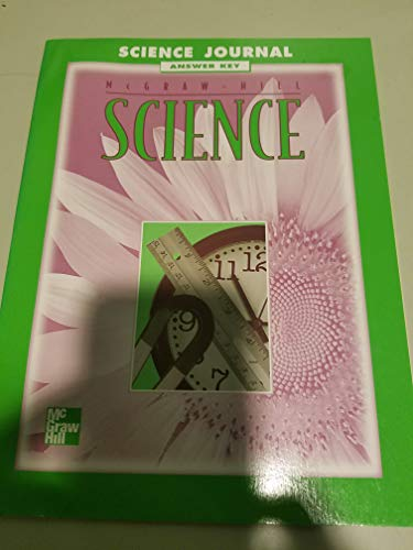 9780022781262: Science Journal - Answer Key (Science)