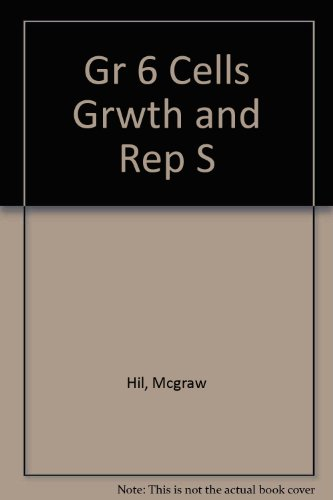 9780022782320: Cells, Growth, and Reproduction