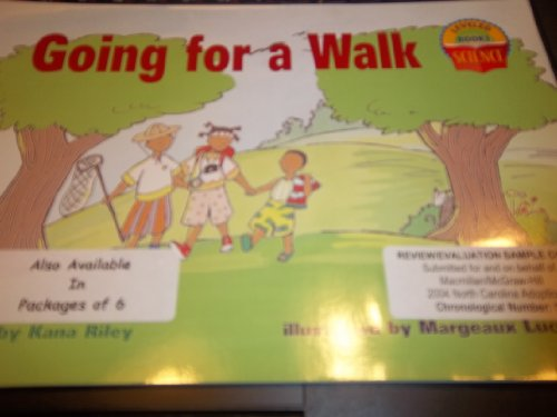 9780022784768: McGraw Hill Grade 1 Sciece: Going For a Walk
