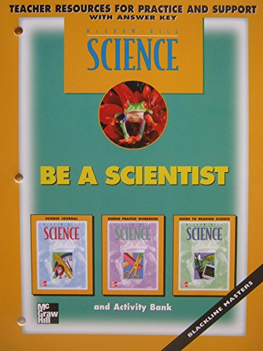 9780022791742: Be a Scientist - Teacher Resources for Practice and Support, with Answer Key (Science)