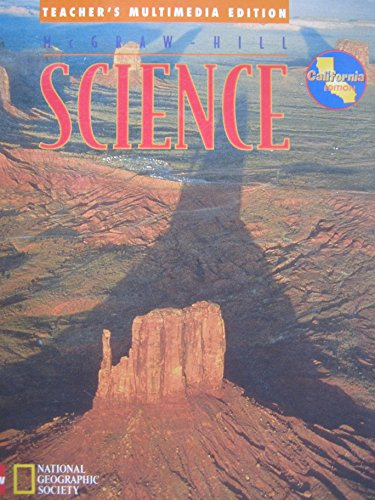 9780022799373: McGraw-Hill Science - National Geographic Invitation to Science (California Edition) (Teacher's Multimedia Edition, The comprehensive K-6 text, activity, and technology program for California)