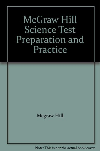 9780022802417: McGraw Hill Science Test Preparation and Practice