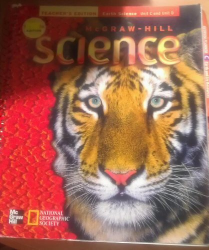 9780022804886: Mcgraw-hill Science Teacher's Edition Earth Science Unit C and Unit D Georgia Edition National Geographic Society