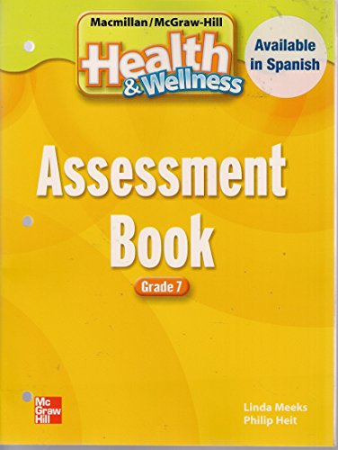 9780022806248: Assessment Pages (Health & Wellness, Grade 7)