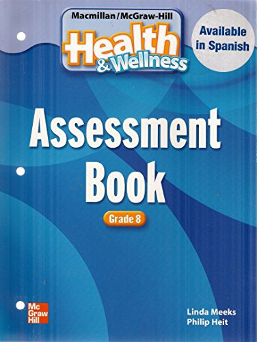 9780022806682: Health&Wellness Assessment Book Grade 8