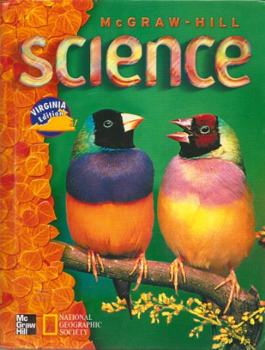 9780022808631: McGraw-Hill Science Virginia Edition (National Georgraphic Society)