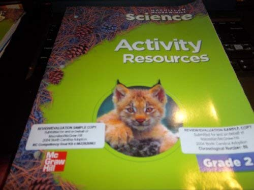 9780022810597: Activity Resources (Macmillan McGraw-Hill Science, Grade 2)