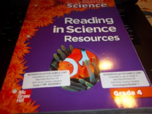 9780022812218: Reading in Science Resources (Science: Grade 4)