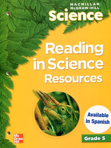 9780022812225: Reading in Science Resources (Macmillan McGraw-Hill Science, Grade 5)