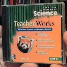 9780022813536: Science TeacherWorks All-In-One Planner and Resource Center, Grade 3, Version 1.5
