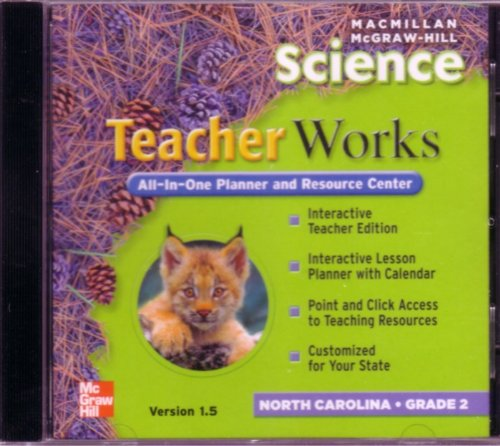 9780022813734: McGraw-Hill Science Teacher Works Grade 2 North Carolina Edition (All-In-One Planner and Resource Center)