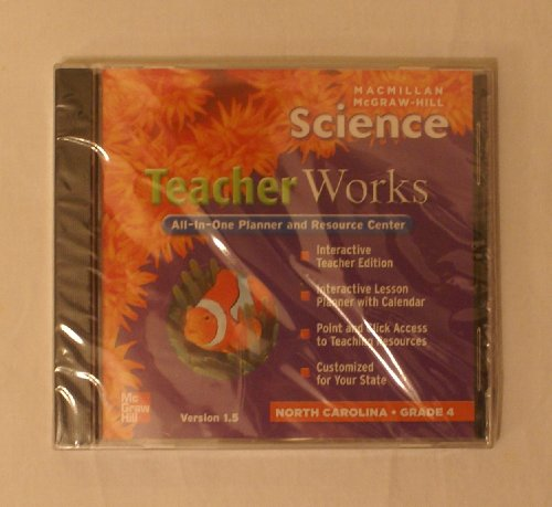 9780022813758: Teacher Works All-In-One Planner and Resource Center (Version 1.5, Science, North Carolina, Grade 4)