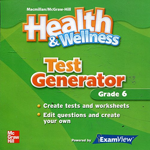 9780022814342: Test Generator Grade 6 (MacMillan McGraw-Hill Health & Wellness)