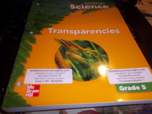 9780022817312: Macmillan Mcgraw-hill Science Transparencies