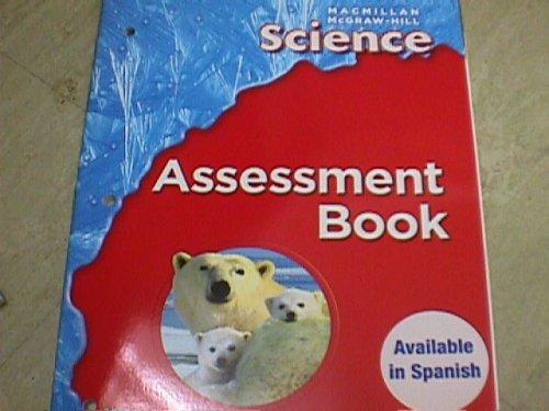 9780022819613: Science Assessment Book (MacMillan McGraw Hill Science, grade 1)