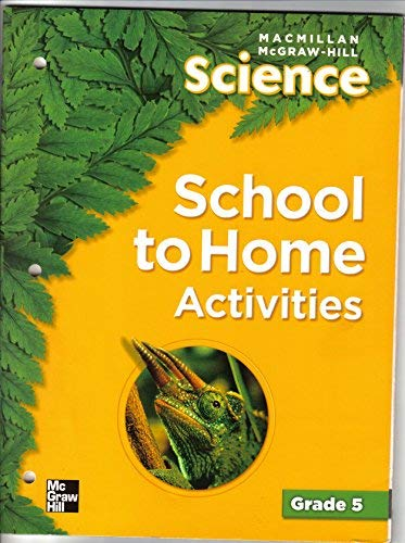 9780022819798: Science School to Home Activities Grade 5